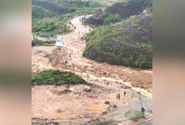 Terdapat risiko berlaku tanah runtuh susulan di Genting Highlands