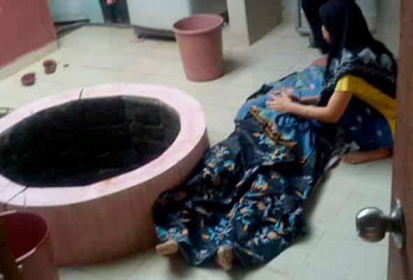 Wanita maut jatuh perigi di Muar