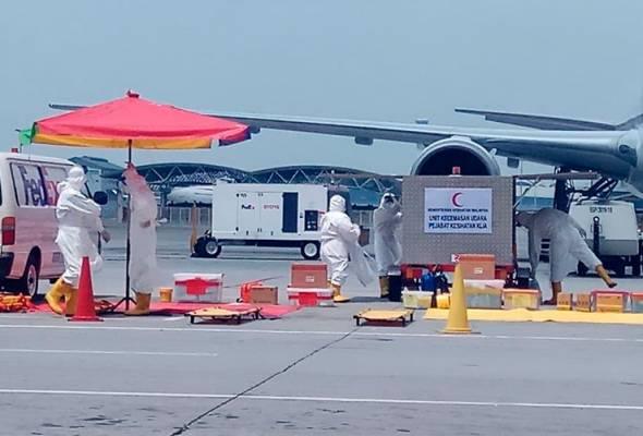 Kebocoran bahan radioaktif di Gudang Pos Aviation, Sepang