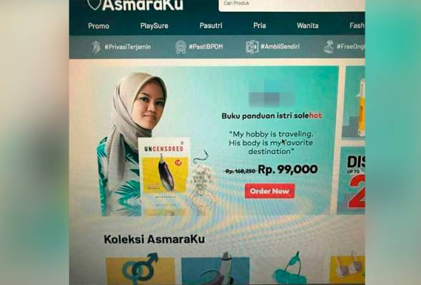 Iklan penulis buku panduan isteri 'Solehot' undang kontroversi
