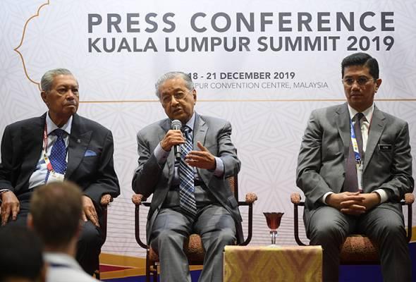 Patut ICC dah lama bicarakan kekejaman Israel  - Tun Dr Mahathir