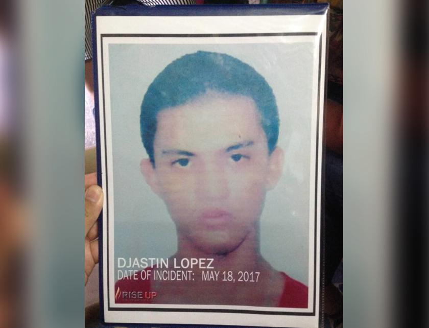 Djastin Lopez yang meninggal pada 18 Mei 2017. - Foto Ceritalah