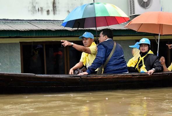Banjir: 37,000 penduduk Narathiwat terjejas