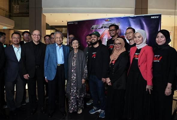 Animasi tempatan kini bertaraf dunia - PM Tun Mahathir
