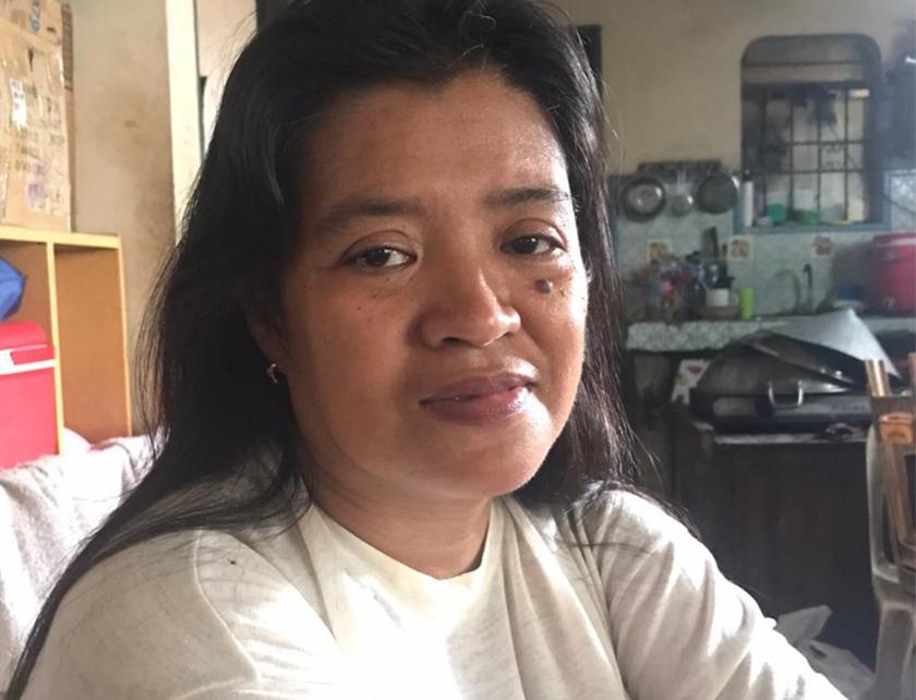 Pasukan Ceritalah menemu bual Normita Lopez di rumahnya. - Foto Ceritalah