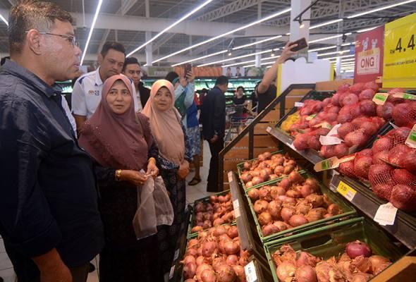 KPDNHEP beri jaminan bekalan bawang mencukupi - Saifuddin Nasution