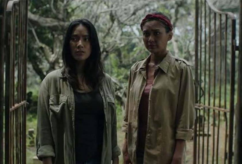 Dua watak protagonis wanita dari filem Perempuan Tanah Jahanam, dimainkan oleh Tara Basro dan Marissa Anita. Foto IMDB