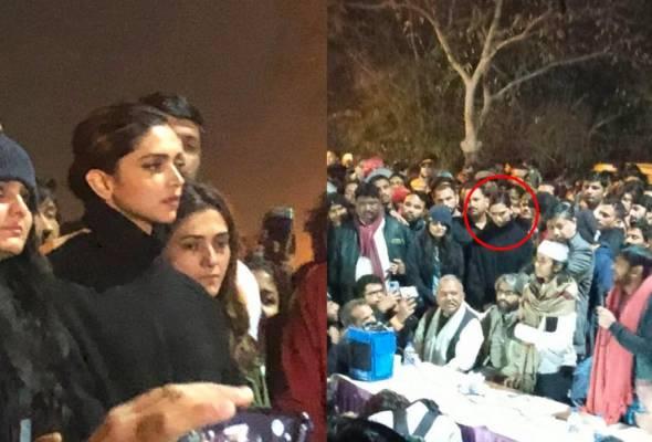 Deepika Padukone turun sokong protes pelajar, media sosial terbahagi dua