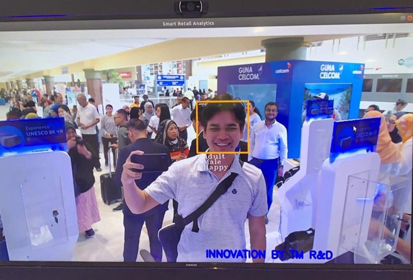 Menerusi 5G, keupayaan seperti pengesanan wajah serta pengkalan data dapat diintegrasikan dengan lebih lancar - Foto Astro AWANI / Hilal Azmi