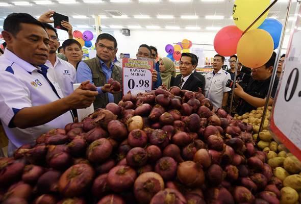 Harga bawang India paling tinggi dicatat di Pulau Pinang, RM24 sekilo