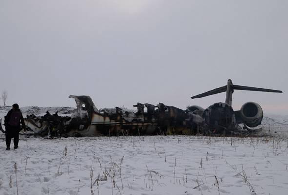 Disangka Ariana Airlines, pesawat terhempas di Afghanistan rupanya milik tentera AS