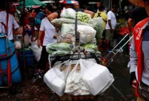 Thailand sambut tahun baharu dengan pengharaman plastik sekali guna 2