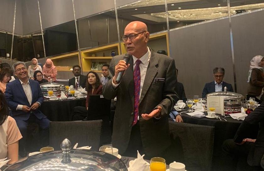 Datuk Bandar Kuala Lumpur, Datuk Nor Hisham A Dahlan turut menyampaikan penjelasan mengenai KLWBC 2020 kepada 60 peserta Rakan Strategik KLWBC 2020