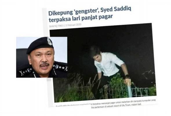 Polis tubuh pasukan khas siasat kekecohan program Syed Saddiq