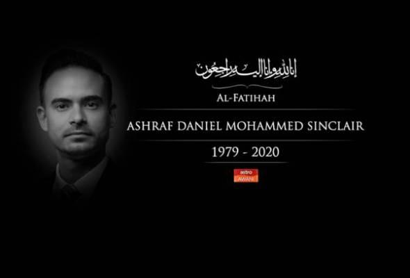 #PerginyaAshrafSinclair: Wan Azizah, Gobind rakam ucapan takziah