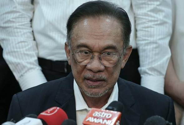 Anwar ke perjumpaan PKR di Petaling Jaya
