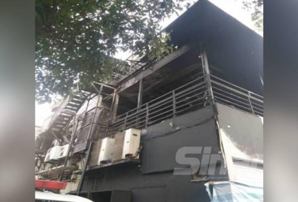 Pusat hiburan di Bukit Bintang terbakar