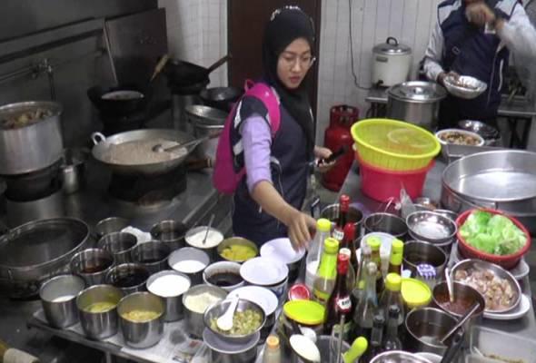Najis, bangkai tikus ditemui di dapur restoran di P. Pinang