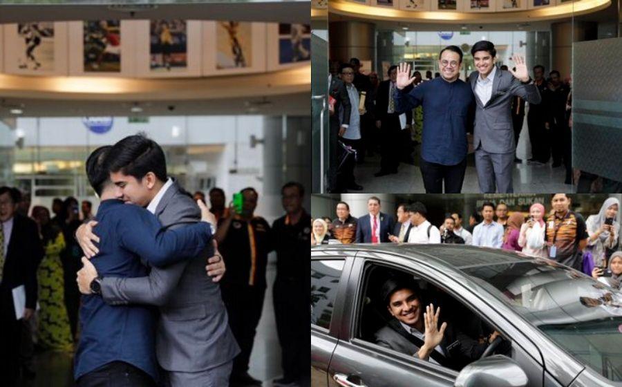 'Terima kasih KBS' - Hari terakhir Syed Saddiq sebagai Menteri Belia dan Sukan