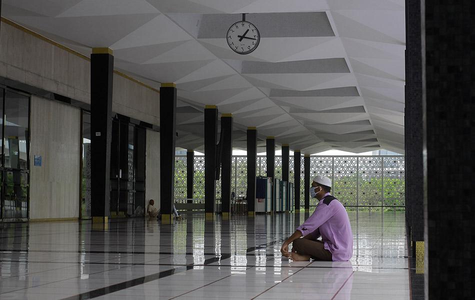 Syahdu masjid, COVID19