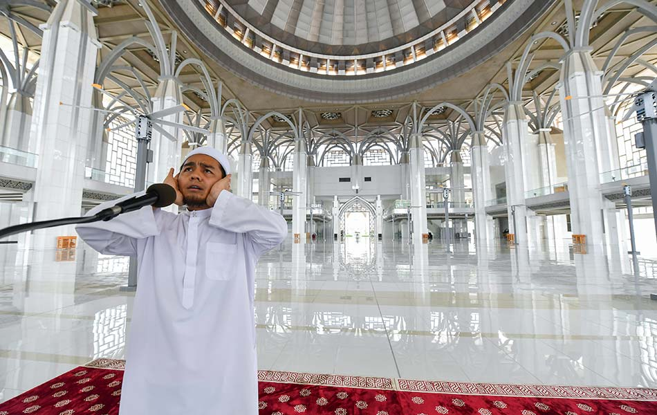 Syahdu masjid, sepi, covid19
