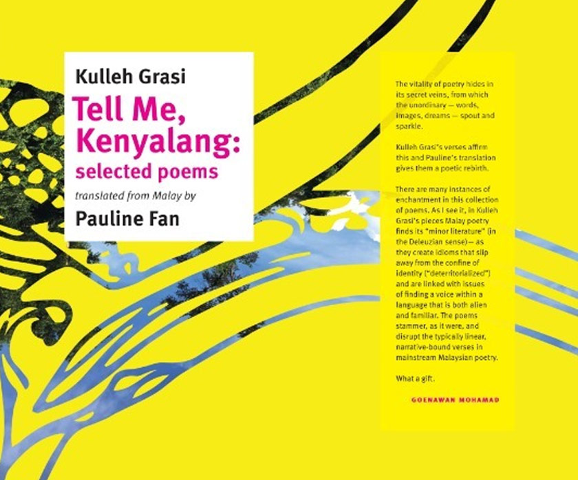 Buku 'Tell Me, Kenyalang'.