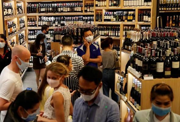 Bangkok larang penjualan alkohol bendung penularan COVID-19