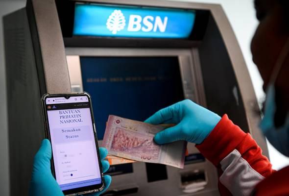 Pembayaran BPN secara tunai dilaksanakan hingga 31 Disember