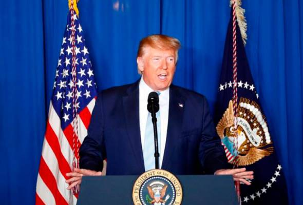 Trump cadang rakyat Amerika pakai topeng muka
