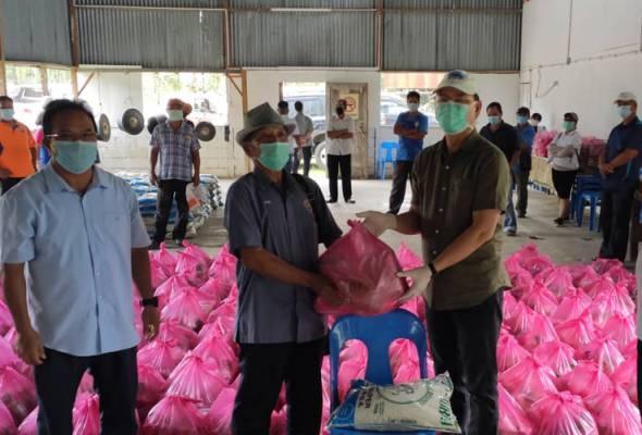 Bekalan makanan disalurkan kepada semua rakyat tanpa pilih parti - Madius Tangau