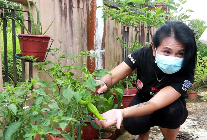 Minat tercetus setelah beliau berkunjung ke satu pameran agro di Sarawak satu ketika dahulu. -Gambar Astro AWANI