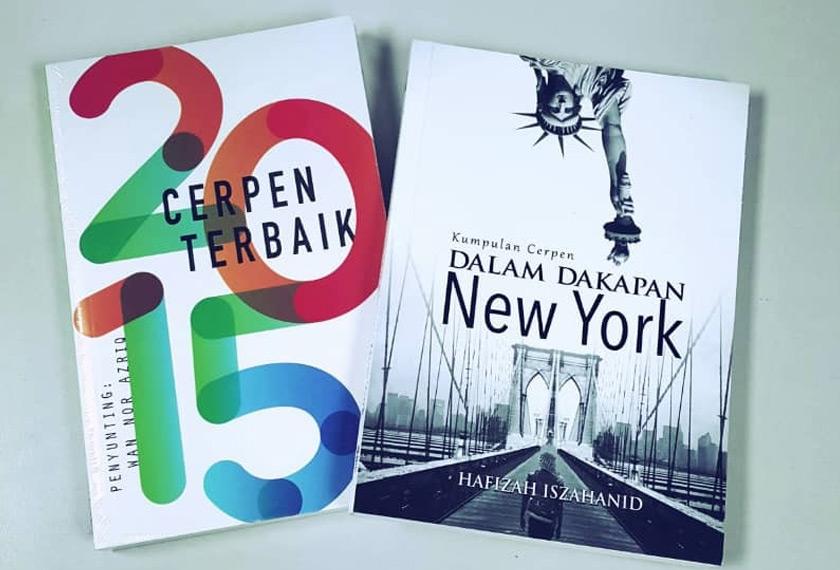 Dalam Dakapan New York merupakan salah satu kumpulan cerpen karya Hafizah Iszahanid. - Gambar Hafizah Iszahanid