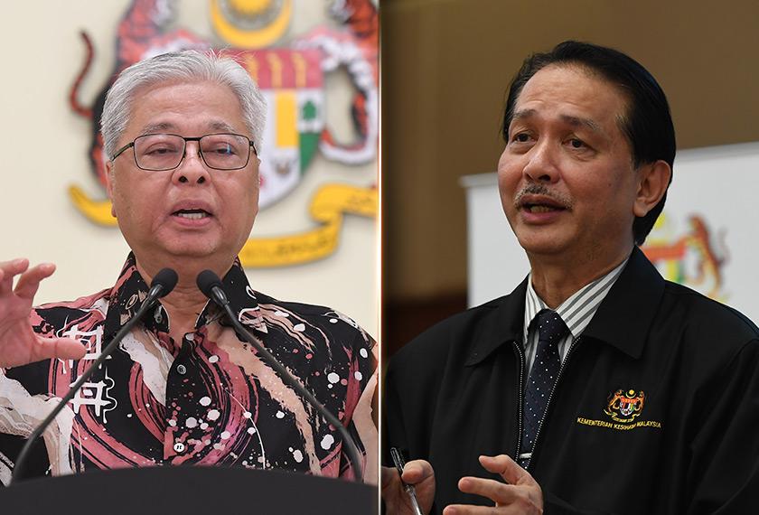 Hampir setiap hari pasti ada sidang media oleh Menteri Kanan (Kluster Keselamatan), Datuk Seri Ismail Sabri Yaakob dan Ketua Pengarah Kesihatan, Datuk Dr Noor Hisham Abdullah.