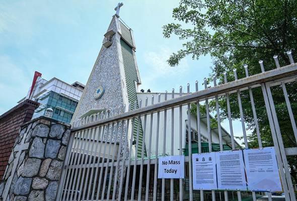 Gereja terus tutup sehingga PKP tamat sepenuhnya