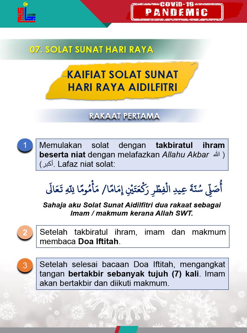 Buat Semua Bakal Imam Solat Sunat Aidilfitri Ini Panduan Buat Anda Astro Awani