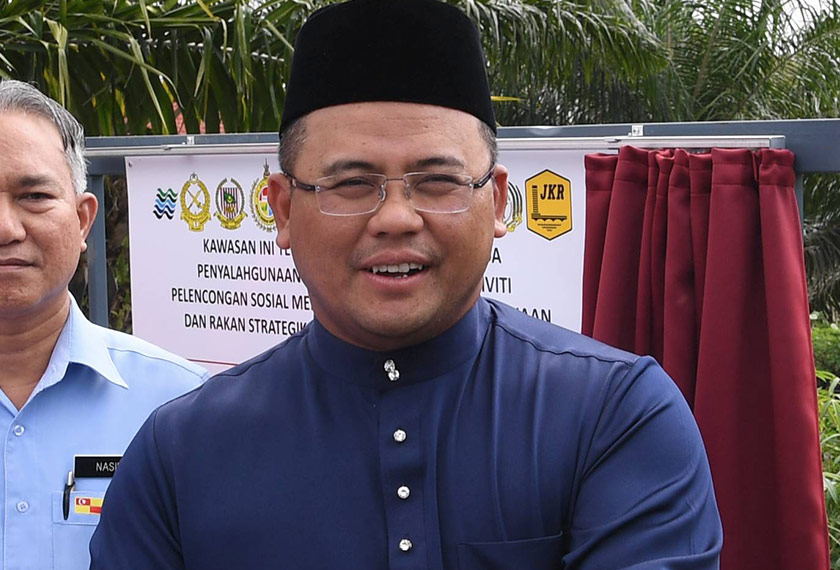Menteri Besar Selangor, Datuk Seri Amirudin Shari