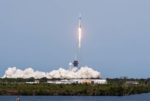 NASA, SpaceX lancar Falcon 9 dalam misi bersejarah ke ISS