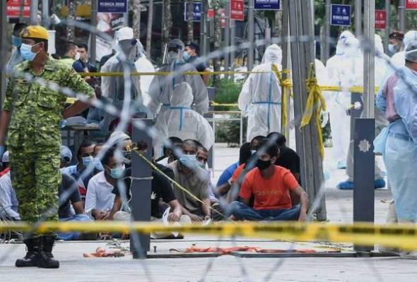 KKM kesan kluster baharu pekerja pembersihan warga Bangladesh
