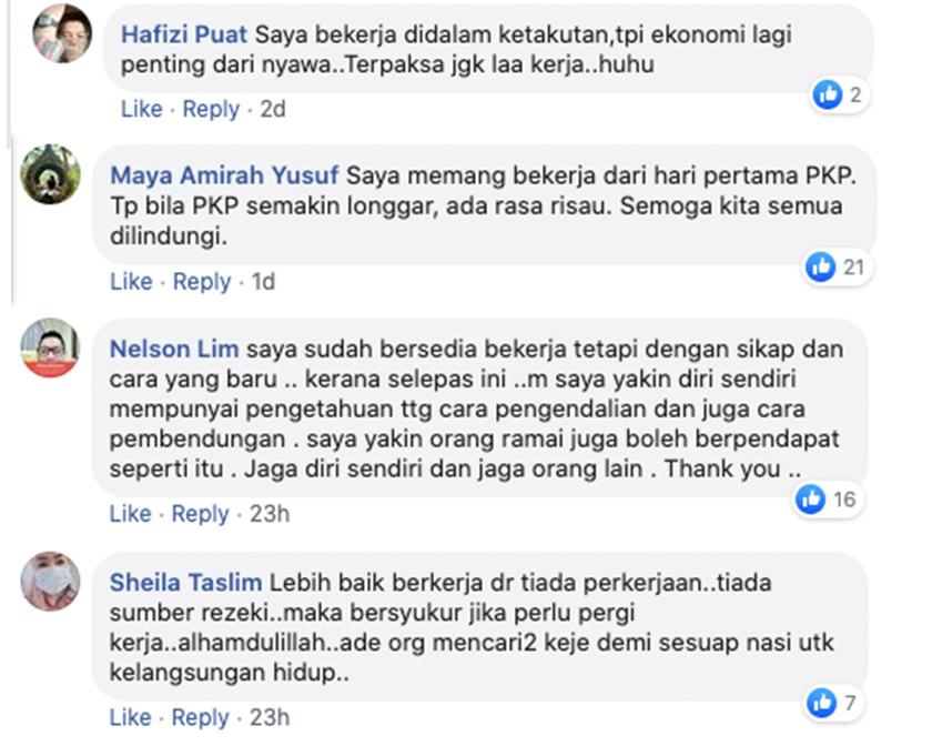 Antara reaksi pengguna Facebook Astro AWANI