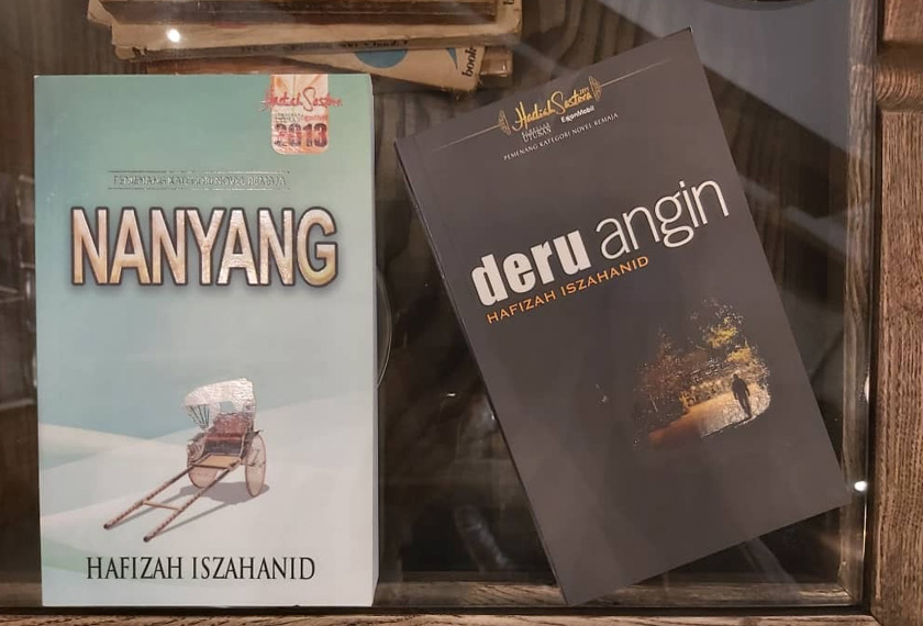 Novel Nanyang diterbitkan dua tahun selepas Deru Angin. - Gambar Hafizah Iszahanid