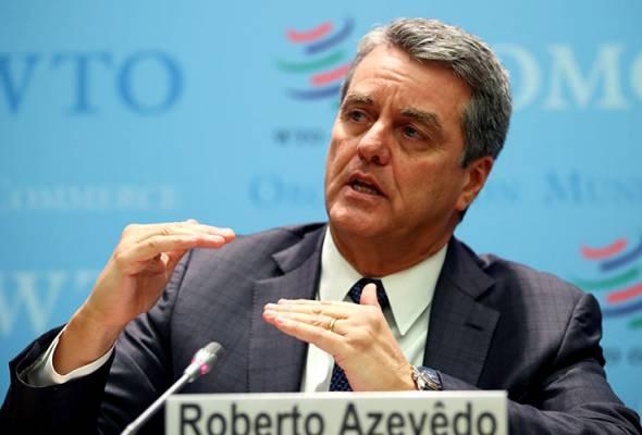 Ketua pengarah WTO letak jawatan