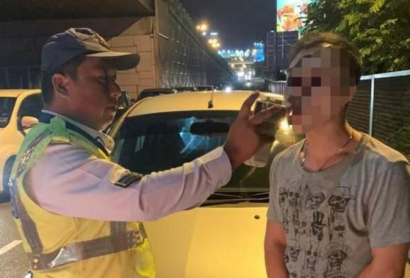 7 ditahan memandu di bawah pengaruh alkohol di Petaling Jaya