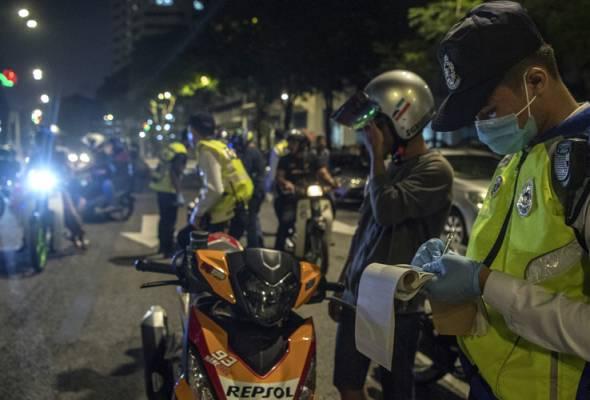 Polis tingkatkan pemantauan kegiatan lumba haram, konvoi motosikal