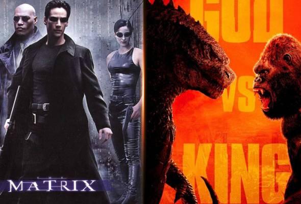 Tarikh tayangan Matrix 4, Godzilla vs Kong ditangguhkan