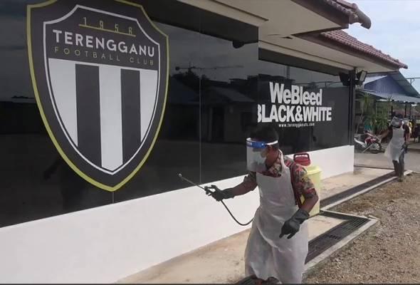 Fasiliti sukan di Kompleks Sukan Terengganu selesai disanitasi