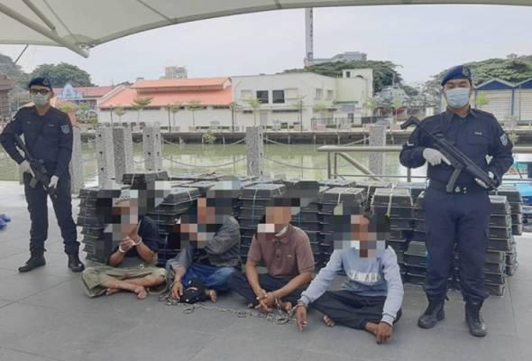 Polis Marin gagalkan cubaan seludup burung murai bernilai RM500,000