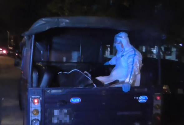 Wanita mengandung ditemui mati dalam kereta