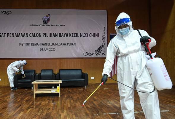 Malaysia buka pintu kepada warga asing, PRK Chini dalam kebiasaan baharu