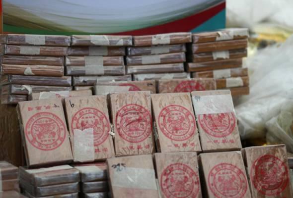 Myanmar bakar dadah bernilai RM3.6 bilion