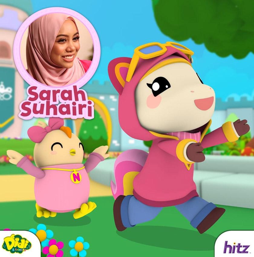 Sarah Suhairi muncul sebagai karakter anak kuda dalam muzik video Takkan Tak Tahu